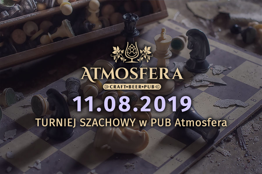 Read more about the article TURNIEJ SZACHOWY w PUB Atmosfera